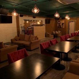 VIP-зал караоке в стиле лофт