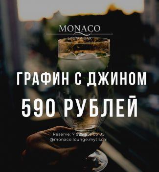 Графин с джином 590 рублей